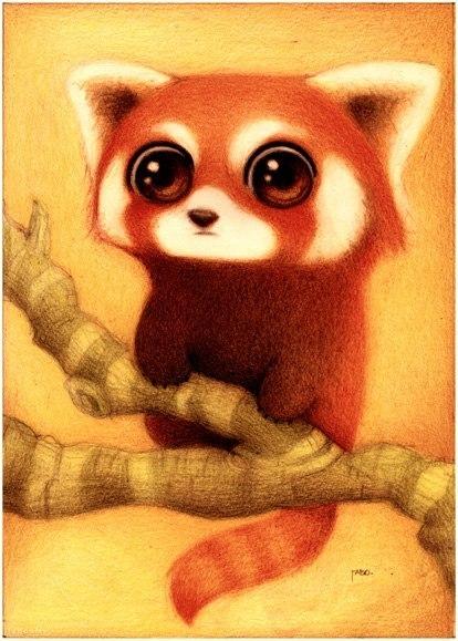 Милые рисунки животных отFabo., Глазастые пушистые комочки— Фото № 10