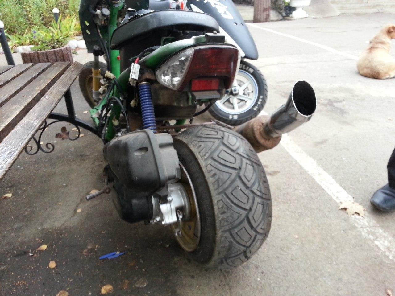 Мотор колесо на скутер своими руками