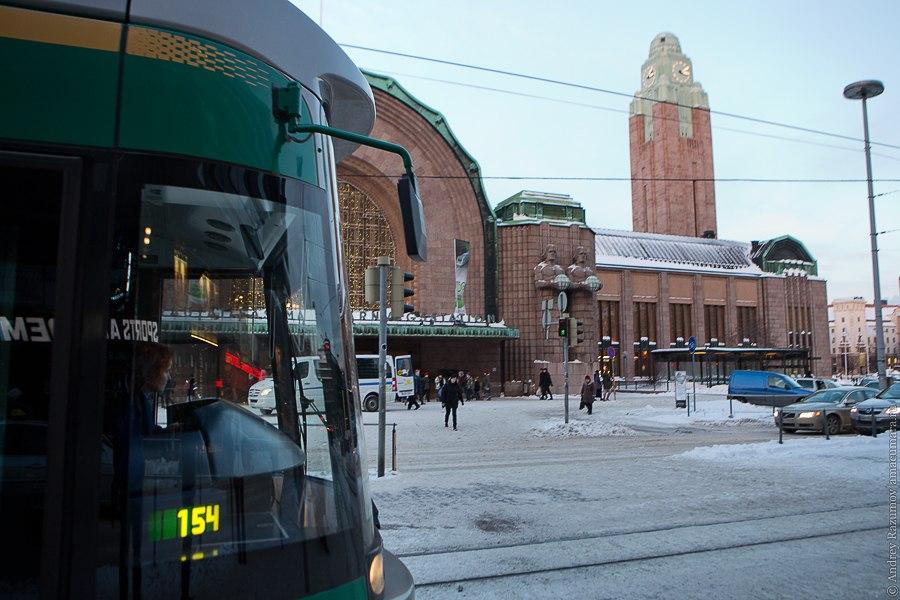 в Хельсинки закрыли метро