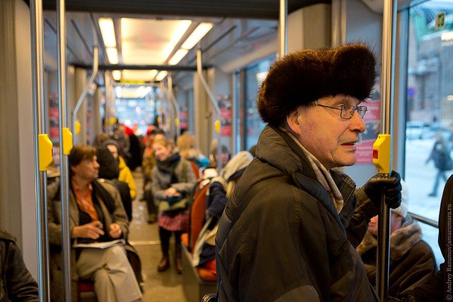 Трамвай в Хельсинки общественный транспорт