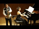 大政直人作曲・須川展也演奏 Dance Music for A.Sax & Pf. Ⅱ Waltz of Tenderness