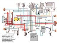 Схема электооборудования БСЗ мотоцикла Ява 350-634 russ - Мои файлы - Каталог файлов - Омский МОТОКЛУБ.