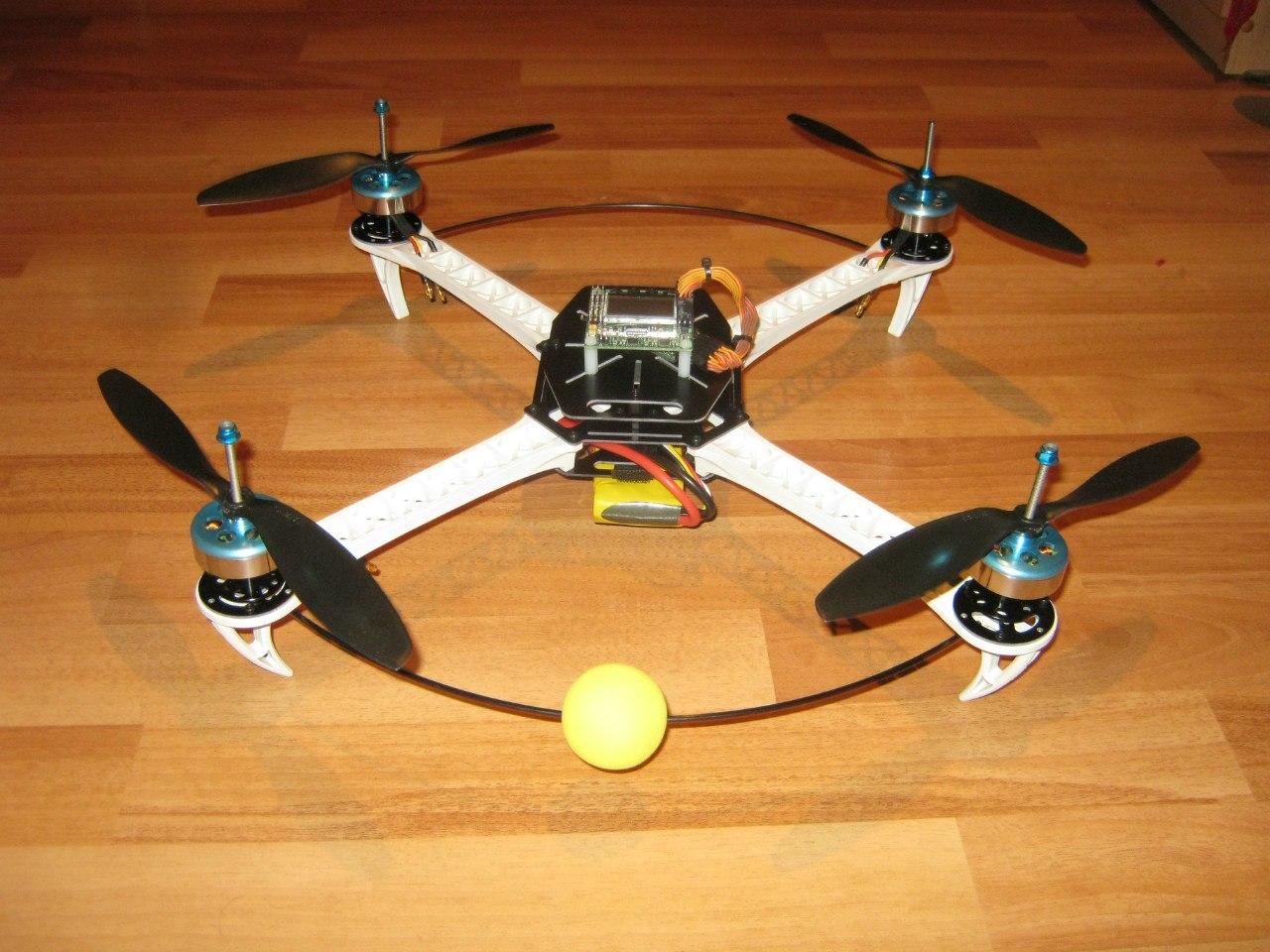 Квадрокоптер своими руками с пультом 284