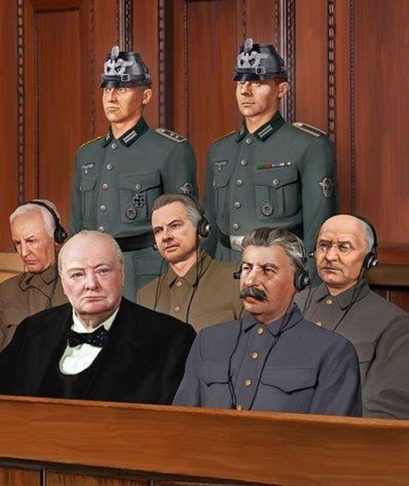 """Нюрнбергский процесс"" над Сталиным"