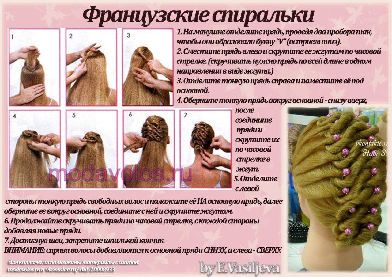 Схемы плетения бантика из волос