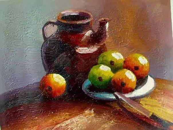 масляная живопись: