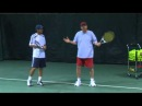 Tennis Training: The Role Of The Dominant Arm On The Two-Handed Backhand