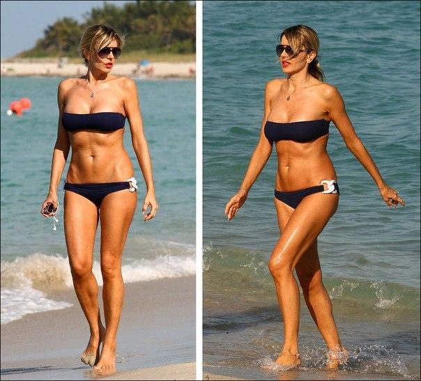 А это Рита Русич. Итальянская модель и актриса. Ей сейчас 52 года.