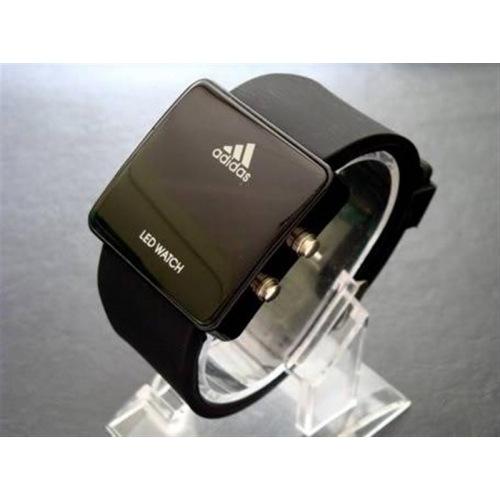 Продаю стильные led watch часы adidas.  Квадратные 500руб.