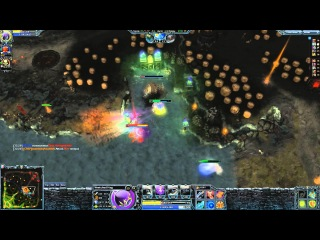 Heroes of Newerth 3 vs 5 (Wretched Hag)