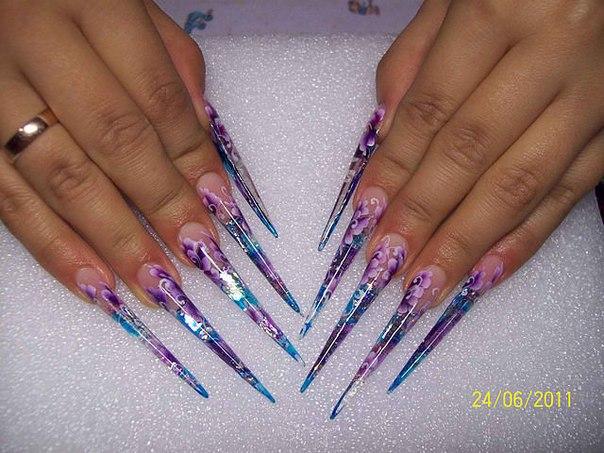 мастер класс по дизайну ногтей: