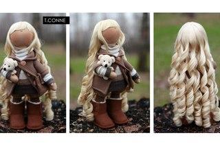 Изображение Авторская кукла Татьяны Коннэ: Мила фото из коллекции handmade на сайте Пинми.ру. handmade.