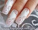 """На нашем сайте для девушек  """"Дамочка """" Вы в любой момент найдете новость - ажурный узор на ногтях на свадьбу..."""