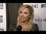 Demi Lovato, The Jonas Brothers And Darren Criss Interviews