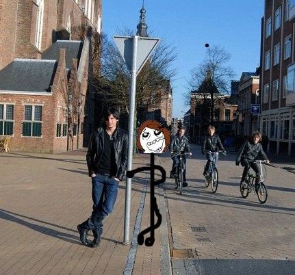 А это мы с ним в Голландии!