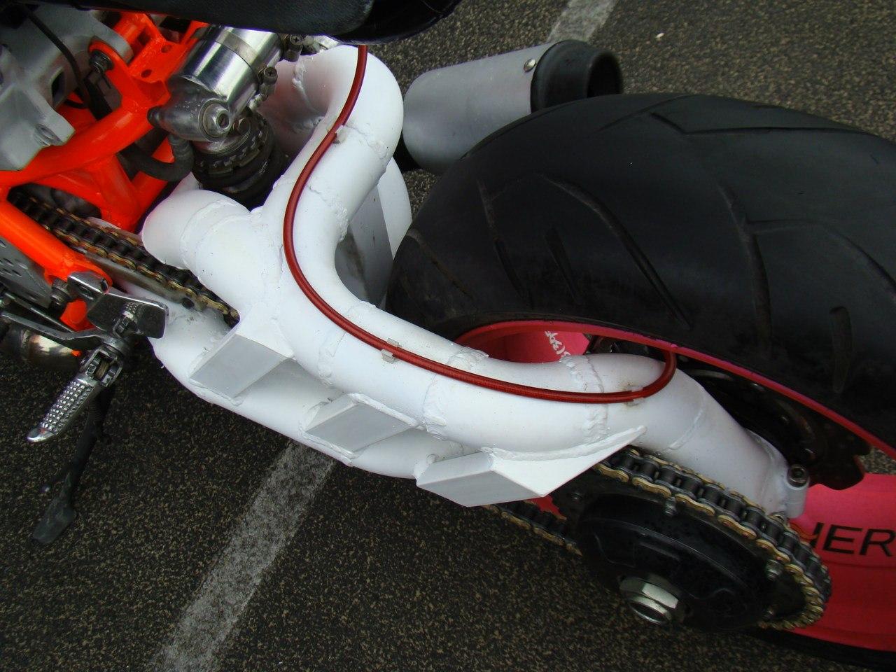 Консольный маятник мотоцикла своими руками 9