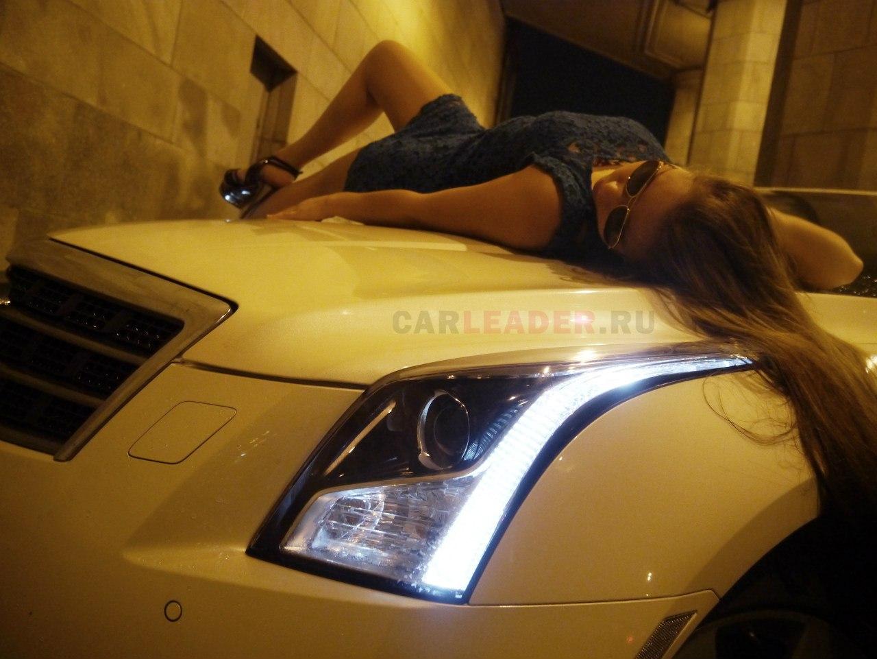 Передние фары Cadillac ATS