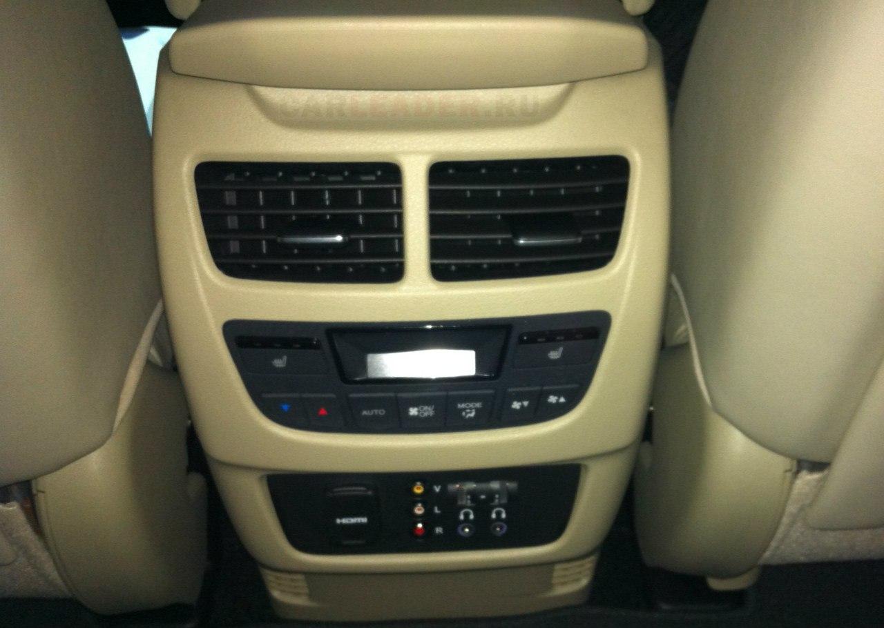 HDMI (!) Car Leader встретил только в Acura.