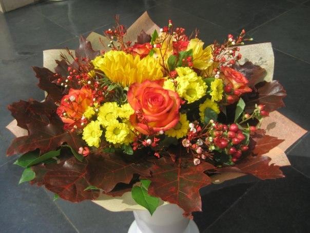 Букеты цветов своими руками фото