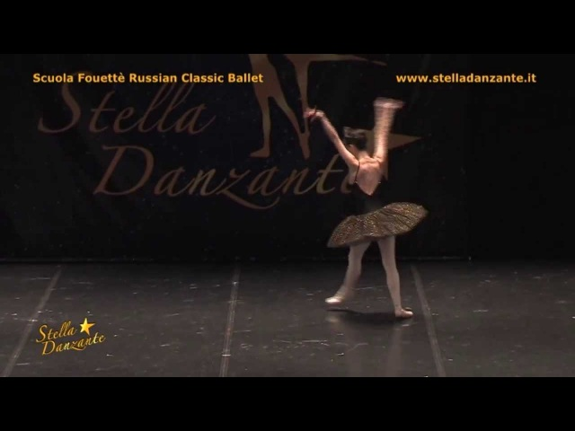 Swan Lake-Black Swan Odile Variation Fouette Russian Classic Ballet 2013