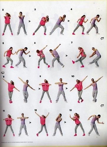 движения для танцев видео