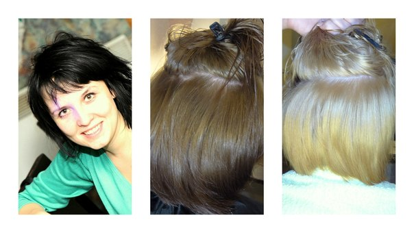 Ютуб мастер класс смывка волос  #3