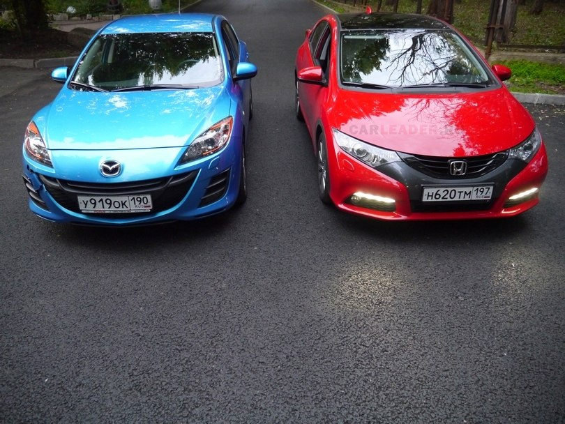 Mazda3 & Honda Civic