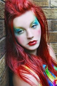 Вечерний макияж зеленоглазой девушки