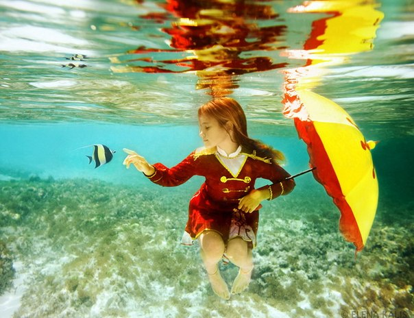 underwater color correction filter elena shoots subjects pools oceans nbsp