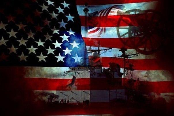 синий флаг со звездами