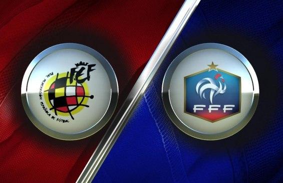 Футбол. Чемпионат мира-2014. Отборочный турнир. Испания - Франция. Прямая трансляция