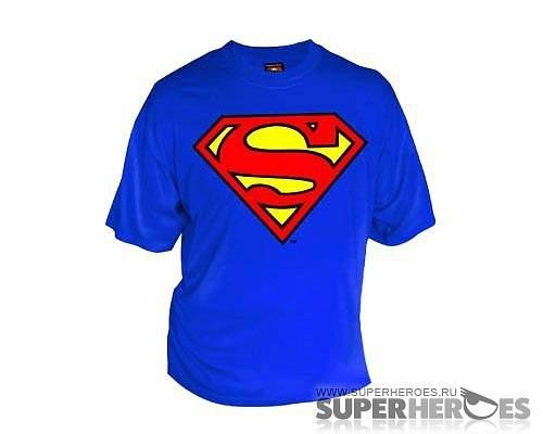 футболка супермена купить в москве.