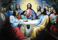 """Иконы и другие изображения на тему религии.  Иконы и картины:  """"Тайная вечеря """" . secret_evenings36."""
