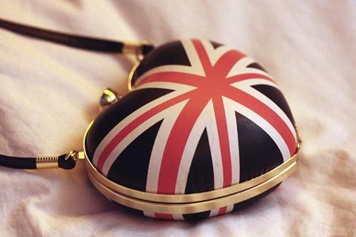 """Часы наручные  """"Британский флаг -3 """" (blue, со стразами) - 1190."""