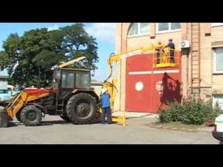 Манипулятор тракторный с люлькой для высотных работ