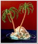 Схема пальмы из бисера - Делаем фенечки своими руками.
