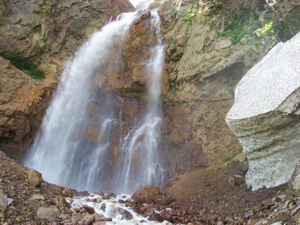 Водопад касахский водопад