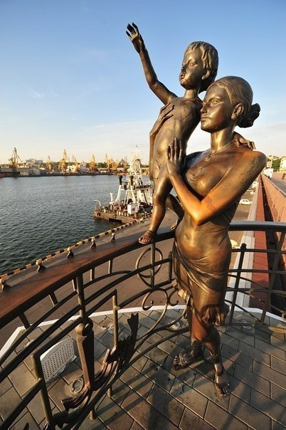 Monuments to motherhood in different corners of the world