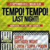 TEMPO! TEMPO! | СЕГОДНЯ! | SUPER BIRTHDAY NIGHT