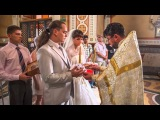 Таня и Антон, очень веселая и замечательная пара. Их  свадьба и венчание  10.08.2013