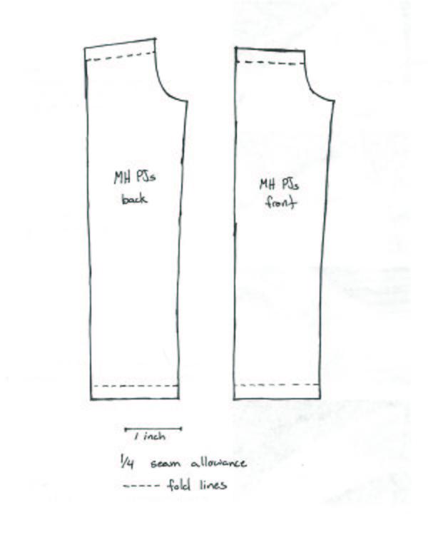 Как сшить брюки для куклы своими