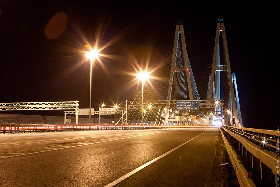 Вантовый мост Большой Обуховский мост