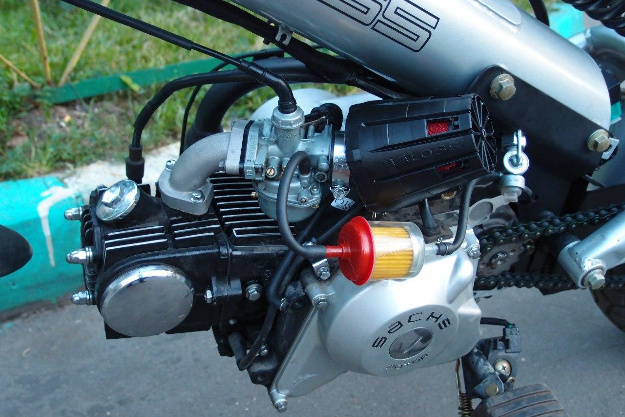 Воздушный фильтр на скутер 4т своими руками 8