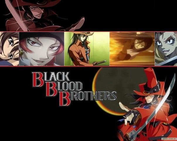 Аниме Братство чёрной крови смотреть онлайн