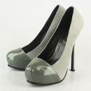 YSL grey suede high heels : Марка сумки - купить Louis Vuitton, Hermes...