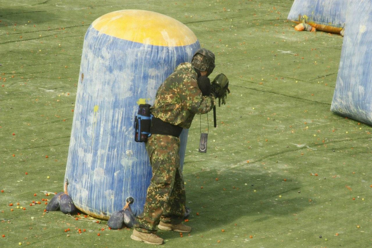Paintball Пейнтбол V этап