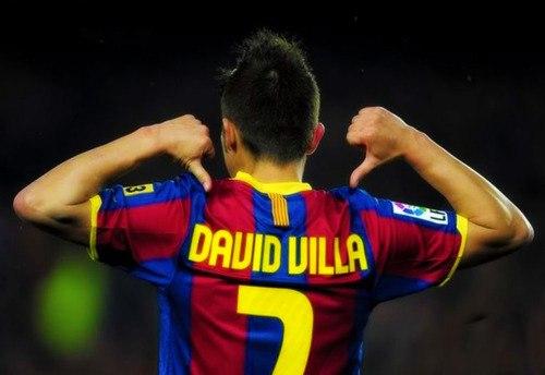 Давид Вилья горит желанием вновь одеть форму Барселоны