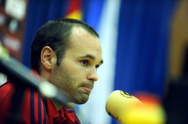Андрес Иньеста: «Думаем не о победе на Евро, а только о матче с Италией»