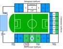 Информация о стадионе: Вмещает: 32990 зрителей Построен: в 1957 году Адрес: г.Самара, ул. Строителей, 1...