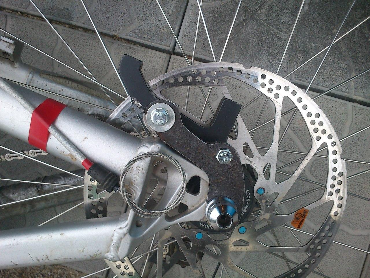 Как сделать передний тормоз на велосипеде 34
